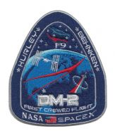 NASA SPACEX DRAGON DEMO MISSION 2 (DM-2) FIRST CREWED LAUNCH